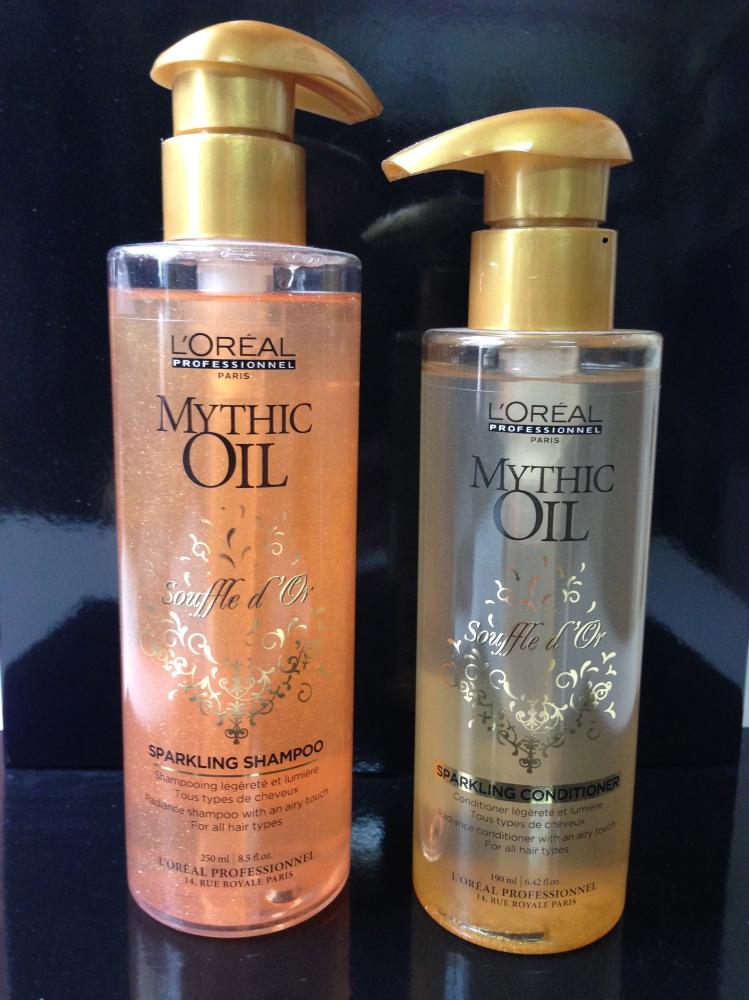 sur l'ancienne gamme Mythic Oil