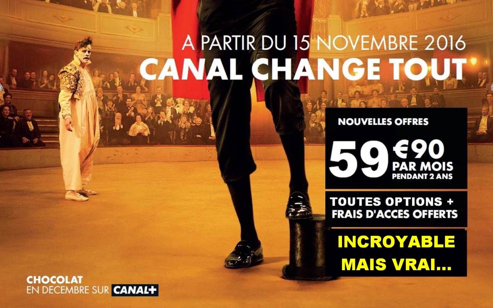CANAL CHANGE TOUT