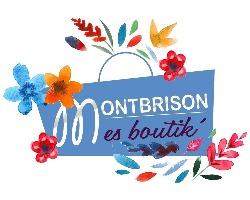 Logo Montbrison Mes Boutik'