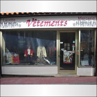 Vêtements Mercerie Guyot