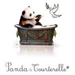 Logo Panda & Tourterelle