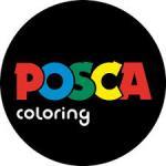 Logo Posca coloring
